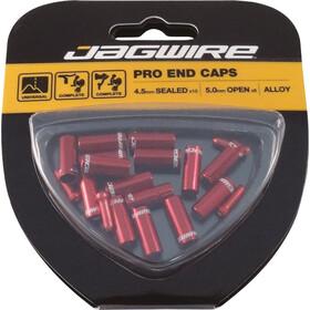 Jagwire Universal Pro Embouts Kit 10x4,5 mm, red